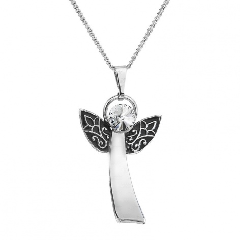 Náhrdelník anděl s rivoli