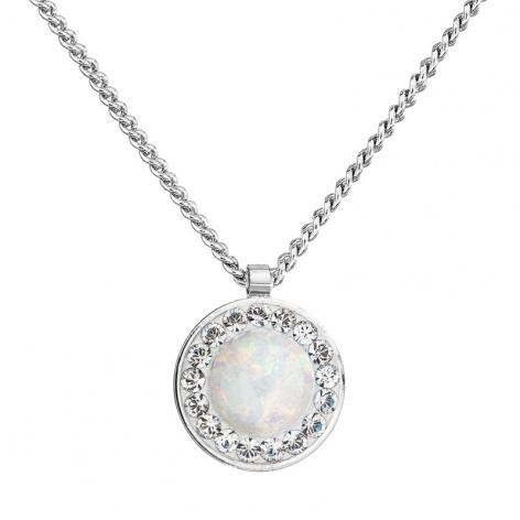 Náhrdelník Bílý opál