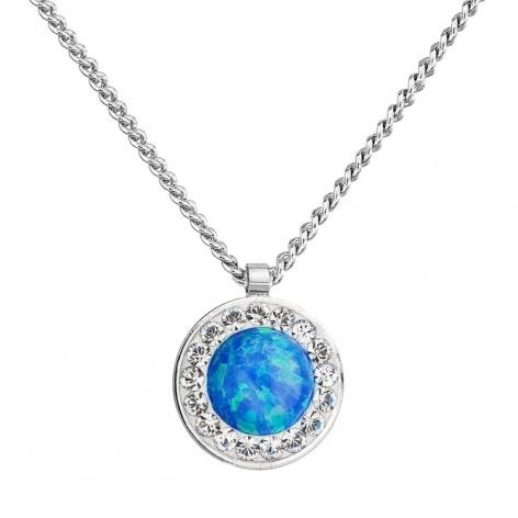 Náhrdelník Modrý opál