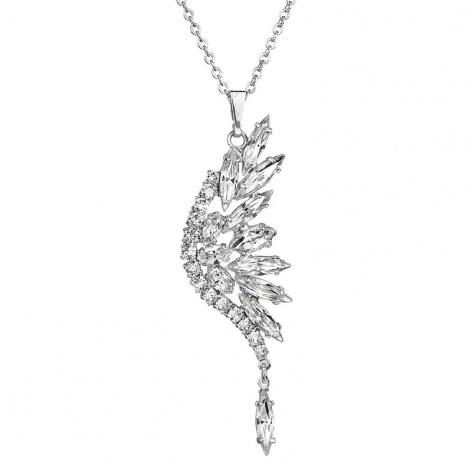 Náhrdelník Křídlo motýla crystal